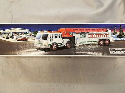 Hess Truck Fire Truck Never Played With In The Original Box Year 2000
