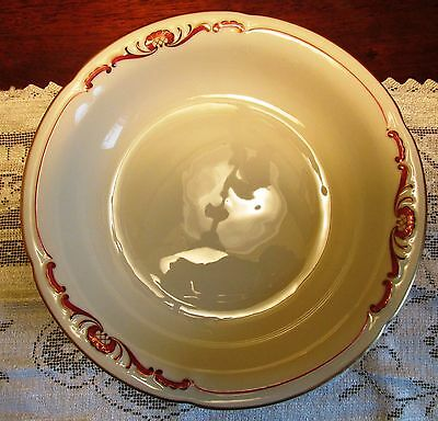 Royal Bayreuth China Set of 4 Soup Bowls - Germany US Zone Mark 1946 - 1949