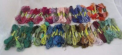 Cross Stitch Floss 100 Skeins Premium Embroidery Sewing Threads New