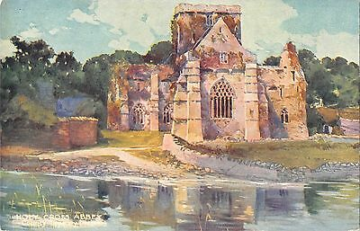 BR80320 holy cross abbey county tipperary ireland postcard painting