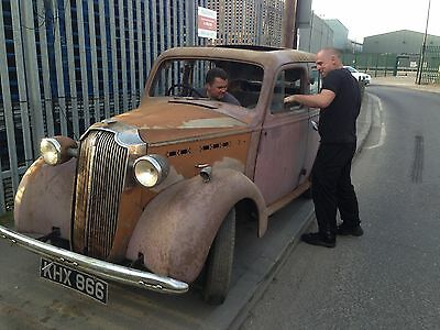 vauxhall 10 1938 year restored no engine and gearbox
