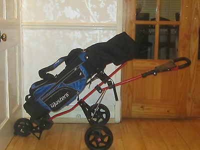 Kids Golf Buggy, Clubs Bargain Hardly Used.