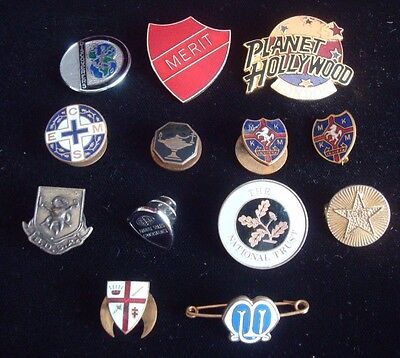 Job Lot / Collection Of Various Badges Including Early Enamel Examples