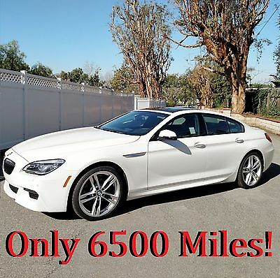 """2016 BMW 6-Series 640i Gran Coupe 2016 BMW 640i Gran Coupe ///M Package 6,500 Miles 20"""" Wheels Calif."""
