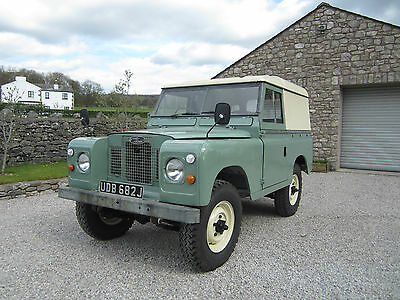 Land Rover series 2a 1971 Galvanised chassis. Restoration