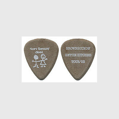 Sum 41 Dave Brownsound Baksh authentic 2003 tour Getting Hitched Guitar Pick