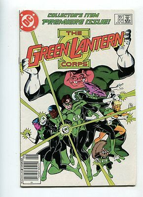 Green Lantern #201 Solid Grade Glossy Cover Canadian Price Variant