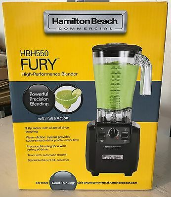 Hamilton Beach Commercial Blender HBH550 Fury - New In Box - Retails $456.03
