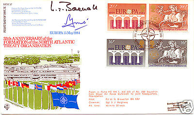 1984 Europa - Forces Official Cover - Cat £20 !!