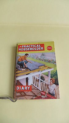 Vintage Old Practical Householder Collins Diary1962 Birthday Year