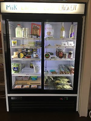Maxx Cold Commercial Glass Door Refrigerator