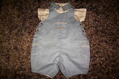 COLIN COLLINE Traditional BABY BOY Romper suit set VERTBAUDET BNWT 3 months