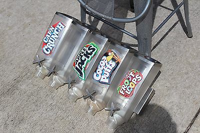 just relisted 1/2 off  Rosseto  Wall Mount topping dispensers 10 altogether