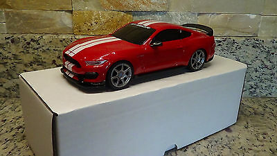 2016 Ford Mustang Shelby GT350R PROMO 1:25 Scale plastic Race Red auto show
