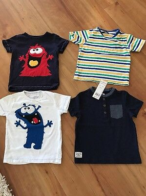 Next Boys Monster Bundle T-shirt 18-24 Months 1.5-2 Years