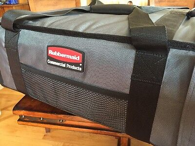 Rubbermaid Commercial ProServe 9F-17 Catering Delivery Bag Large Black/ Gray