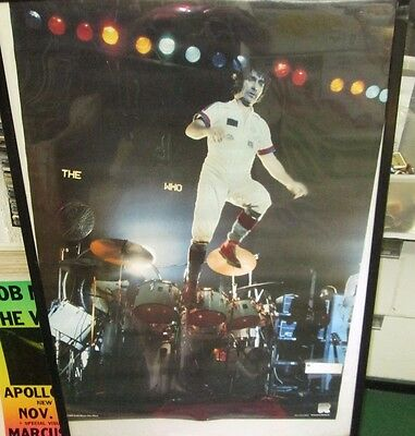 The Who  Poster Rare New 1990's Vintage Collectable Keith Moon Daltry