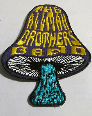 Allman Brothers Collectable Rare Vintage Patch Embroided 2015 Limited Run Metal