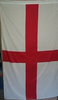 GIANT, ENGLAND FLAG, ST GEORGE,  5ft x 3ft