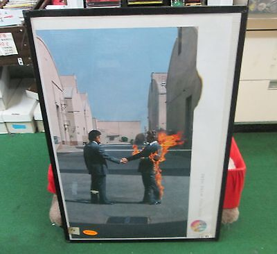 Pink Floyd Wall Roger Waters Heavy Metal Rare Sealed Poster Wish You Were Rock