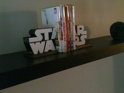 3D Printed Star Wars Logo Book Ends