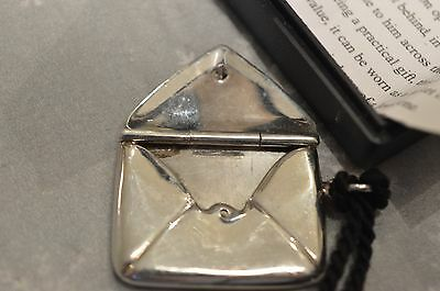Antique / Vintage Hallmarked  Sterling Silver Stamp Case Holder