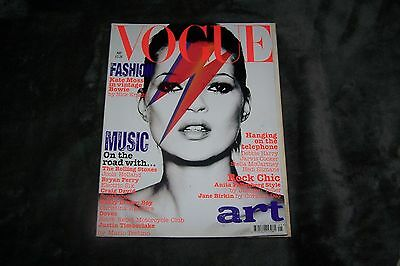 VOGUE MAGAZINE May 2003 Kate Moss DAVID BOWIE COVER Rolling Stones DEBBIE HARRY