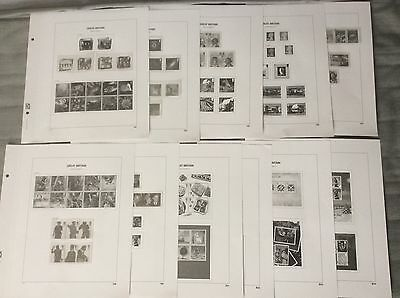 Great Britain GB DAVO Luxe supplement pages 2007 some mounts