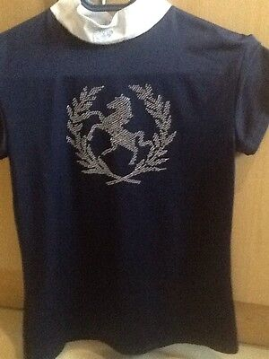 Mountain Horse Short Sleeved Stock shirt size small