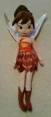 """Disney Store Fawn from Tinker Bell 22"""" Plush Toy"""