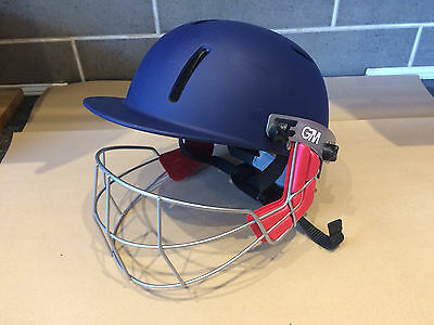 GM Cricket Helmet Junior Small Navy