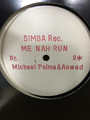 "Michael Palmer  ""me Nah Run"" On The Simba Label 12"" Hear."