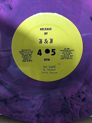"Leroy Smart ""jah Light"" On The J & J   Label 12"" Hear."