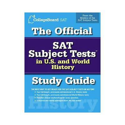 The Official SAT Subject Tests in U.S. History and World History by The...