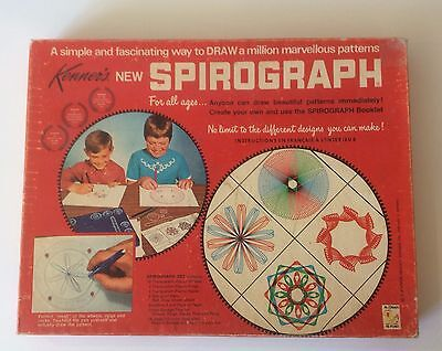 Kenners Spirograph Antiques No 401 1967 Collectible Vintage Toys Spiral Patterns
