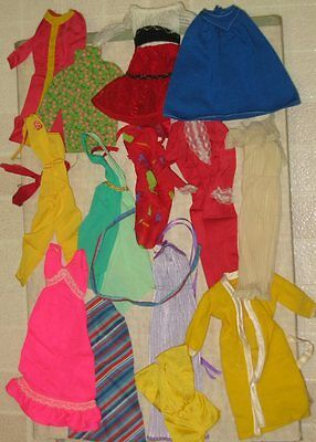 Vintage Barbie Doll Clothes Lot 5 As Is