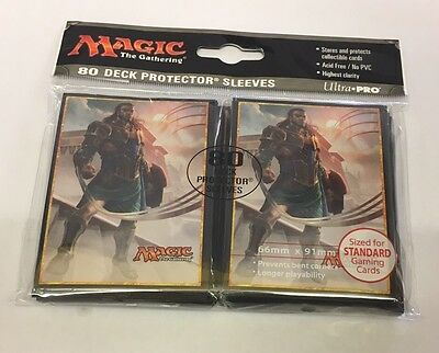 MTG Amonkhet Gideon of the Trials Standard Size 80 Deck Protector Sleeves