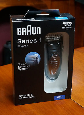 Braun Series 1 190s-1 Electric Shaver Touch Sensitive System Brand New......