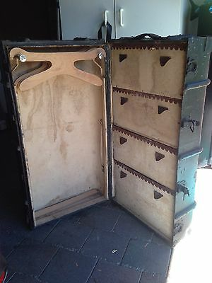 Antique Travel Steamer Trunk