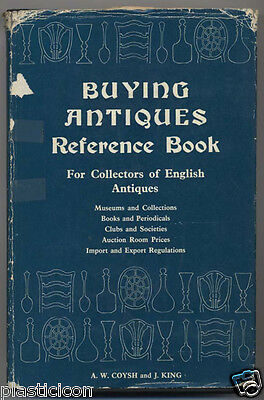 Buying ENGLISH ANTIQUES Reference Book Museums Clubs Auction Prices Impor Export