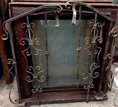 1920's Wrought Iron Stair Rails Spanish Antique Iron Railing