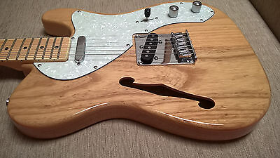 Thinline Telecaster + Lollar pickups - SX Southern American Swamp Ash