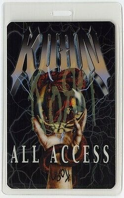 Korn authentic 2004 Laminated Backstage Pass Take A Look In the Mirror Tour AA