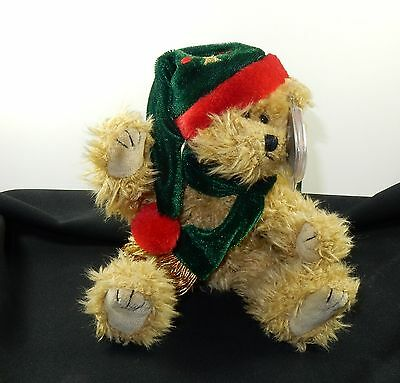 Ty RETIRED Attic Treasure SPRUCE Winter Bear Mint w/ Tag Smoke and Pet Free Home