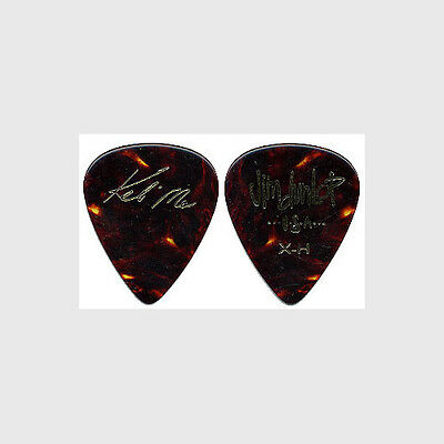 Keb Mo Kevin Moore authentic 2007 tour gold foil on shell custom Guitar Pick