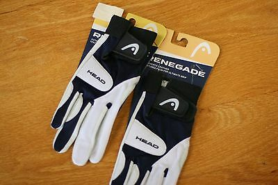 HEAD RACQUETBALL GLOVE  RENEGADE,TWO GLOVES , RIGHT Hand Size L LARGE