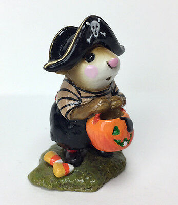 LITTLE PIRATE KIDD By Wee Forest Folk, 1996, Retired 2011! WFF# M-216 EXCELLENT!