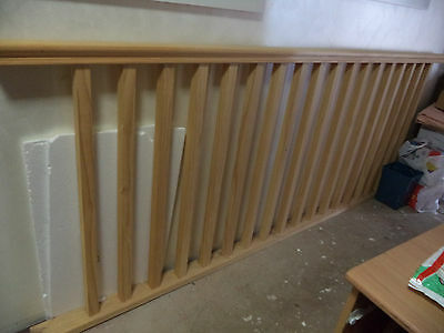 STAIRS LANDING BARRIER  -  PINE never used or installed with side posts