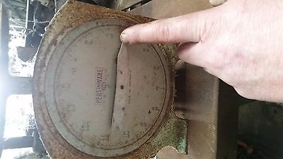 persinware kitchen scales 14 pounds vintage weight working Australian made