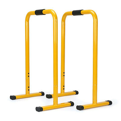 Dip Station Bars Body Press Dip Stand Fitness Equalizer Parallel Bars